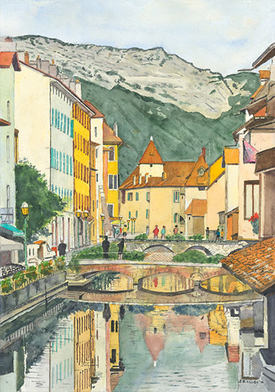 Annecy #2: A Villages in the French Alps