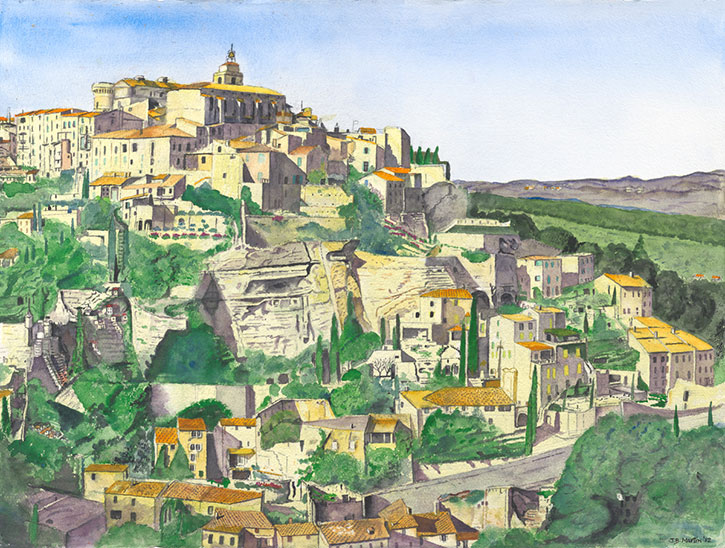 Gordes, A Perched Village in Provence